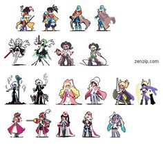젠네집 Character Concept, Character Art, Concept Art, Character Design, Pixel Life, Pix Art, Pixel Characters, Pixel Art Templates, Pixel Animation