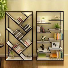 Muebles de madera maciza, forjado estante del almacenaje del hierro retro soporte de la TV americana estantería creativa