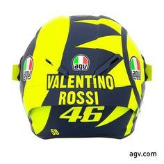 Rossi 2018 campaign AGV helmet