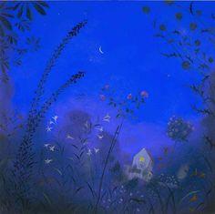 **Nicholas Hely Hutchinson. Summer Night in a Garden