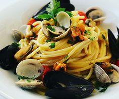 Spaghetti ai frutti di mare! ❤