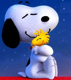 Snoopy And Woodstock Friends Forever by BradSnoopy97