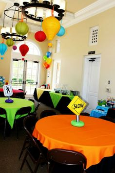 "Photo 4 of transportation / Birthday ""Beep Beep.Choo Choo, It's a party… Hot Wheels Birthday, Hot Wheels Party, Boy First Birthday, 3rd Birthday Parties, Birthday Ideas, 16th Birthday, Kids Party Themes, Party Ideas, Race Car Party"