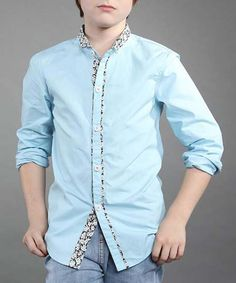 Fashionable Long Sleeve Floral Print Buttoned Shirt... £9.82