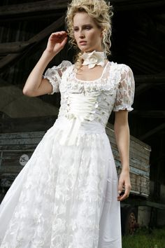 wedding dirndl dress