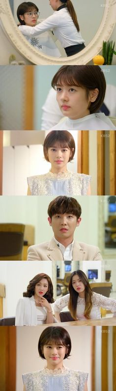 Lee Joon fell for Jung So-min. On the latest episode of the KBS drama & is Strange& Ahn Joong-hee (Lee Joon) couldn& take his eyes off Byeon Mi-yeong (Jung So-min). Young Actresses, Korean Actresses, Korean Actors, Korean Dramas, Jung So Min, Lee Joon, Afro, Queen Of The Ring, Age Of Youth