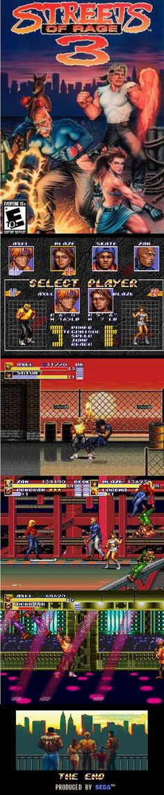 #RetroGamer #Arcade Beat'em up #StreetsofRage 3 brings everybody together from the first two games to finally take out the crime syndicate http://www.levelgamingground.com/streets-of-rage-3-review.html