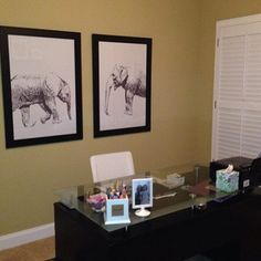 Theres an elephant in the room! We'll not a real one just some great elephant prints that came from @lulusimonSTUDIO