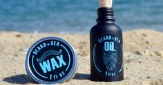 """""""Every beard care product we make is meant to draw inspiration from the cooling and refreshing nature of the sea,"""" says creator Jon Richards"""