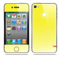 Element Sun iPhone Skin by TAJTr