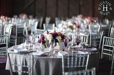 Mariage violet th�me Vigne Vin Wedding 2015, Wedding Day, Wedding Tables, Grey Tablecloths, Vineyard Wedding, Violet, Table Settings, Photography, Mary