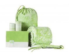 Maclaren-Netto-Collection-Sea-Coral-Crib-Bedding-Set-in-Jade-Lime-White-Unisex