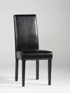 Chintaly Imports Straight Back Black Parson Chair Set