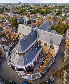 Pieterskerk Leiden, Zuid Holland, Netherlands.