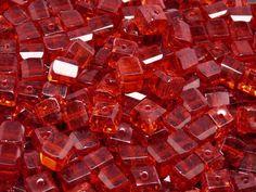 10pcs Czech FirePolished Faceted Glass Beads by BeadsFromCzech, Kč58.00