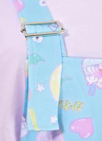 b7dd0c6958c Fairy Kei Pattern Overalls. OverallsJumpsuitsPlaysuitsDungarees