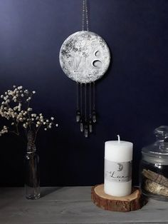 How Japanese Interior Layout Could Boost Your Dwelling Crystal Moon Wall Hanging Witchy Decor Full Moon Wall Decor Crystal Wall Hanging Crystal Wall, Clear Quartz Crystal, Crystal Decor, Crystal Bedroom Decor, Gothic Bedroom Decor, Bedroom Inspo, Bedroom Ideas, Wiccan Decor, Spiritual Decor