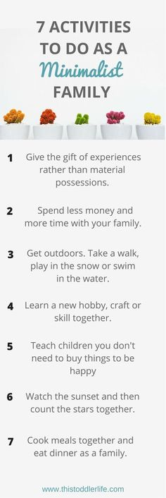 TO HAVE A MINIMALIST LIFESTYLE WITH CHILDREN Simple living with kids is possible! Love these easy and fun tips for minimalist families.Simple living with kids is possible! Love these easy and fun tips for minimalist families. Parenting Advice, Kids And Parenting, Gentle Parenting, Foster Parenting, Parenting Styles, Vie Simple, Minimalist Lifestyle, Minimalist Parenting, Raising Kids