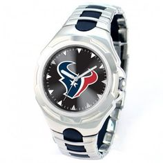 Houston Texans Stainless Steel Victory Watch