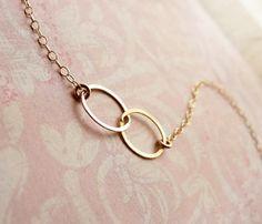 Two Circle Bracelet