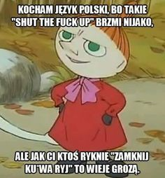 Scary Funny, Wtf Funny, Polish Memes, Funny Sms, Old Memes, Reaction Pictures, Man Humor, Funny Comics, Best Memes
