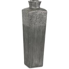 Mercana ceramic vase with metallic design embellishments SOLD OUT www.lambertpaint.com