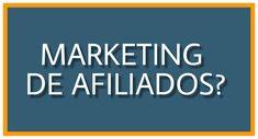 Oque é Marketing de Afiliados ? Clique na imagem e descubra você tambem
