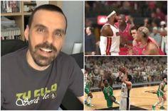 El oráculo de Outconsumer: Heat vs Spurs, LeBron vs Jordan, Russell vs Duncan... en videojuego (Vídeo) - @KIA en Zona