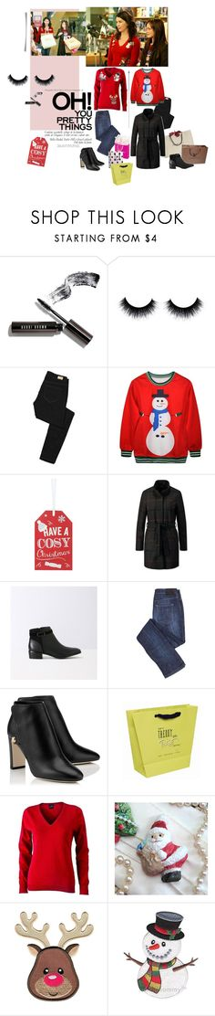 """""""Gilmore Christmas Shopping *"""" by d-addams ❤ liked on Polyvore featuring Bobbi Brown Cosmetics, Paige Denim, Burberry and Louis Vuitton"""