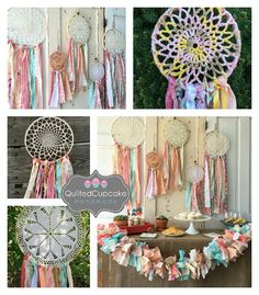 Items similar to Dream Catcher, Boho style Coral and Mint dreamcatcher for Boho Baby Shower or Boho Wedding shower or Ceremony, handmade Party Decoration on Etsy Baby Shower Elegante, Baby Shower Boho, Girl Shower, Baby Shower Themes, Baby Shower Decorations, Dream Catcher Boho, Dream Catchers, Baby Nursery Decor, Boho Chic