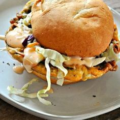 Vegan Buttermilk Fried Mushroom Sandwiches - Rabbit and Wolves Vegetarian Cooking, Vegetarian Recipes, Cooking Recipes, Healthy Recipes, Tofu Recipes, Dinner Recipes, Vegetable Recipes, Free Recipes, Cooking Tips