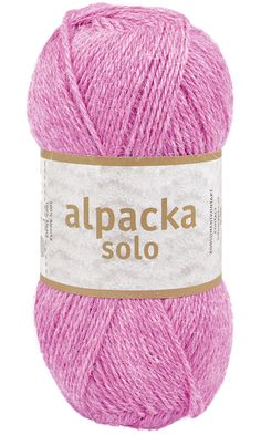 Alpacka Solo - Järbo Garn AB