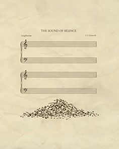 The sound of silence. Los sonidos del silencio