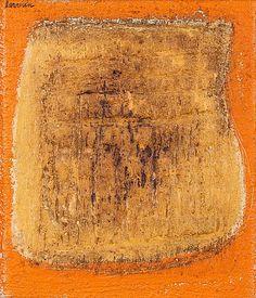 Ahti Lavonen: Sommitelma, öljy kankaalle, kiinnitetty levylle, 40x35 cm - Bukowskis