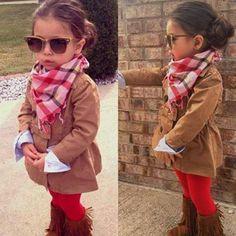 little girl fashion fashion Kids fashion / swag / swagger / little fashionista / Fashion Kids, Little Girl Fashion, Toddler Fashion, Winter Fashion, My Baby Girl, My Little Girl, Cute Kids, Cute Babies, Baby Kids