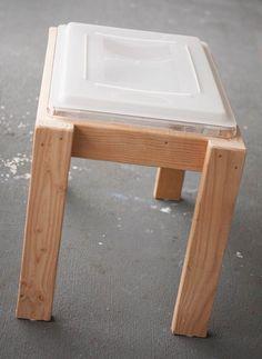 Final sensory table