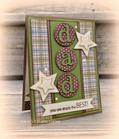 Image result for homemade fathers day card