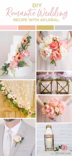 DIY Romantic Wedding