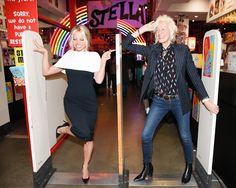 C Social Front. Stella McCartney Autumn 16 Presentation--Pamela Anderson & Ellen Von Unwerth
