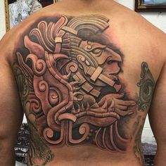 tatuajes mayas y su significado espalda
