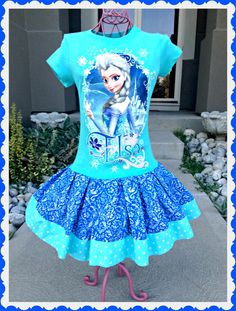 Hey, I found this really awesome Etsy listing at https://www.etsy.com/listing/203795648/girls-frozen-dress-queen-elsa-size-1012