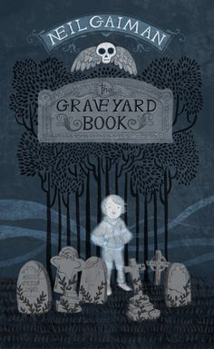 Neil Gaiman's The Graveyard Book is one of my very favorite books (which I read every fall) so I had to create my own cover for it. --art by Meridth McKean Gimbel #middlegradecovers #middlegrade #spooky #kidlit #kidlitartist #theGraveyardBook Illustration Artists, Digital Illustration, Graphic Illustration, The Graveyard Book, Neil Gaiman, Spooky Stories, Conceptual Art, Pictures To Draw, Best Artist