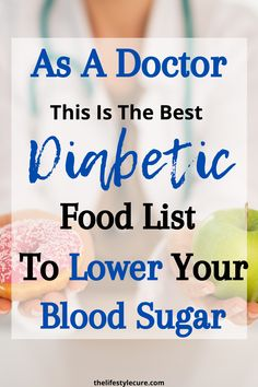 As a doctor, discussing diabetes is quite common. In fact, every other patient that would walk into the clinic was a Diabetic. Unfortunately, it has become an epidemic in the world and is mostly to due to our eating habits. Diabetic Food List, Diabetic Tips, Diabetic Meal Plan, Diabetic Snacks, Good Foods For Diabetics, Diabetic Breakfast Recipes, Diet Recipes, Lower Blood Sugar Naturally, Causes Of Diabetes