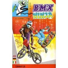BMX Ninja for Commodore 64 from Alternative Software