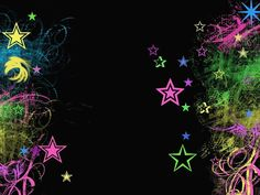 most inspiring rainbow star wallpaper Neon Backgrounds, Twitter Backgrounds, Cool Wallpapers For Girls, Cute Wallpapers, Girl Background, Background Designs, Background Images, Neon Wallpaper, Glow Party