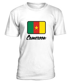 # National Flag of Cameroon .  Get this BEST-SELLING T-ShirtGuaranteed safe and secure payment with:Best quality on the market, great selection of colors and styles!National Flag of Cameroon(Republic, Flag, Africa, Cameroon, Yaounde, french, colony, Douala, Football, The Indomitable Lions)