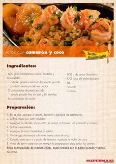 from Recetas Ecuatorianas Comida Latina, Learn To Cook, Dessert Recipes, Desserts, Restaurant Recipes, Cantaloupe, Make It Simple, Meal Prep, Slow Cooker