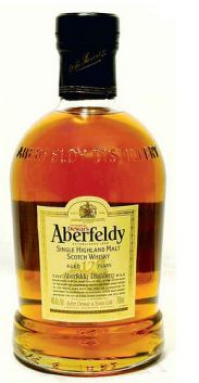 ABERFELDY 12 YEAR whisky  40% 70 cl www.wijn-sterkedranken.be
