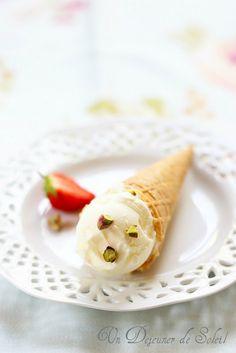 Yaourt glacé (ou glace au yaourt) recette simple et délicieuse - Frozen yogurt ©Edda Onorato