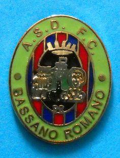 DISTINTIVO SPILLA PIN - A.S.D. F.C. BASSANO ROMANO CALCIO - cod. 152